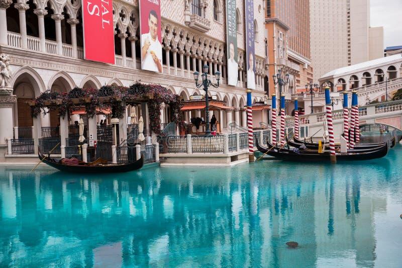 Hotel veneciano en Las Vegas fotos de archivo libres de regalías