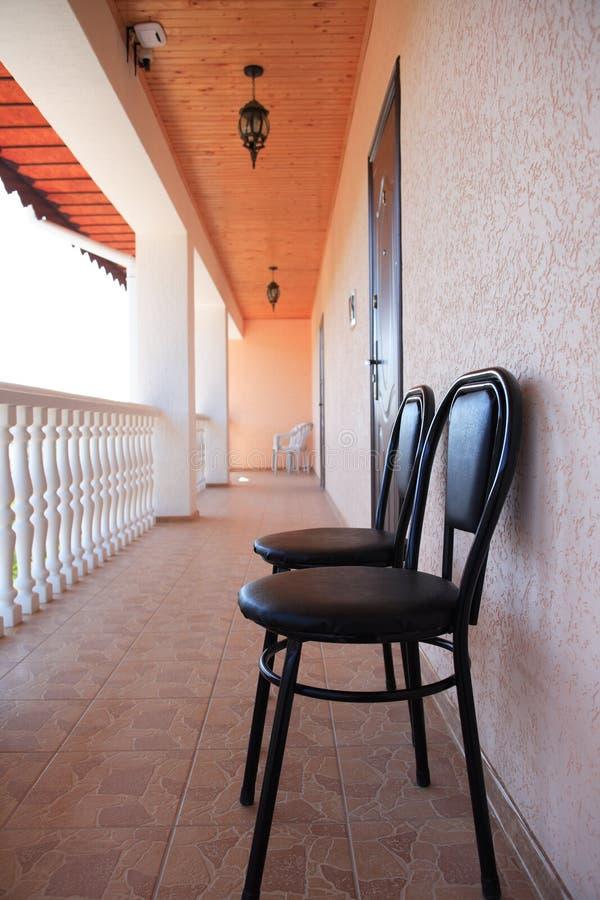 Download Hotel Veranda stock image. Image of railing, balcony - 25643487