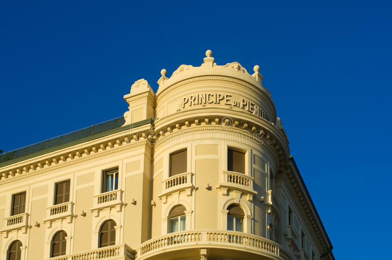 Hotel, Viareggio, Itália imagem de stock royalty free