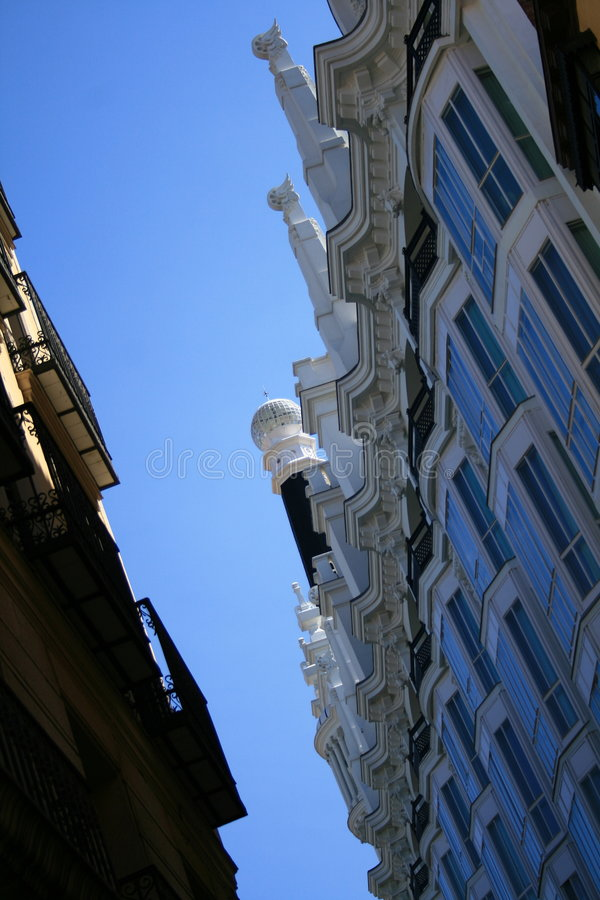 Hotel viejo de los toreros en Madrid imágenes de archivo libres de regalías