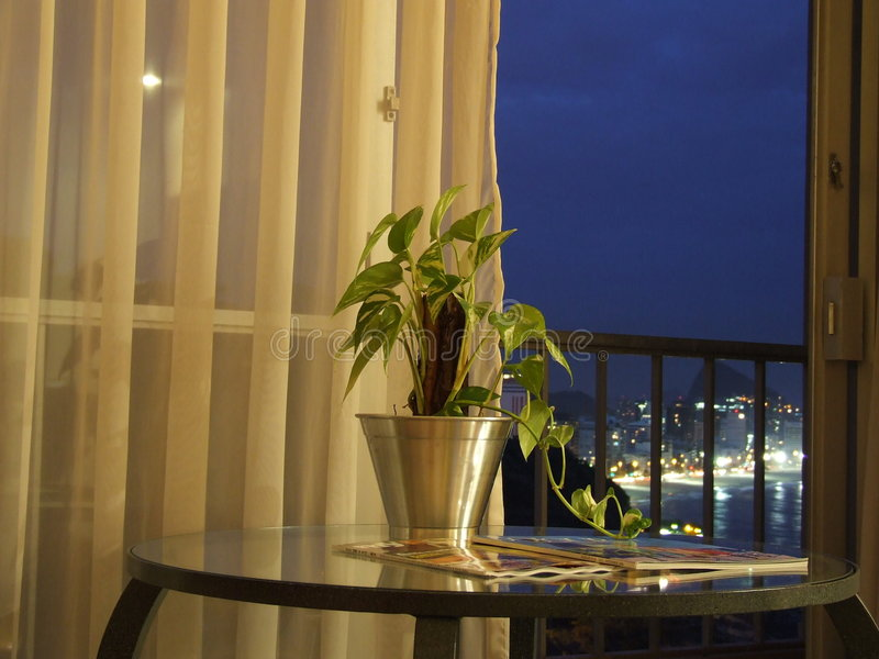 Hotel View stock photography