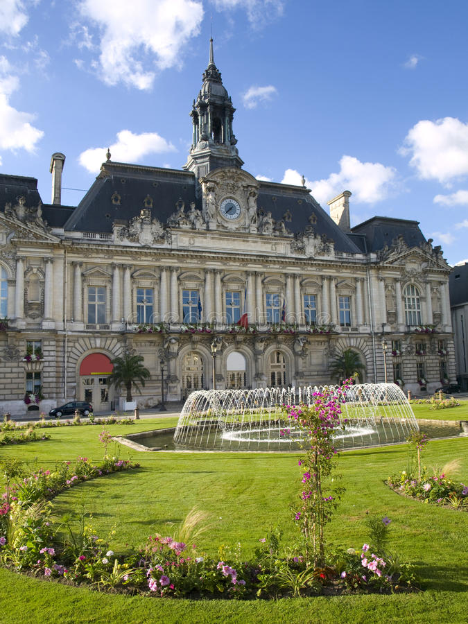 Download Hotel In The Ville Of Tours Stock Photo - Image: 12520340