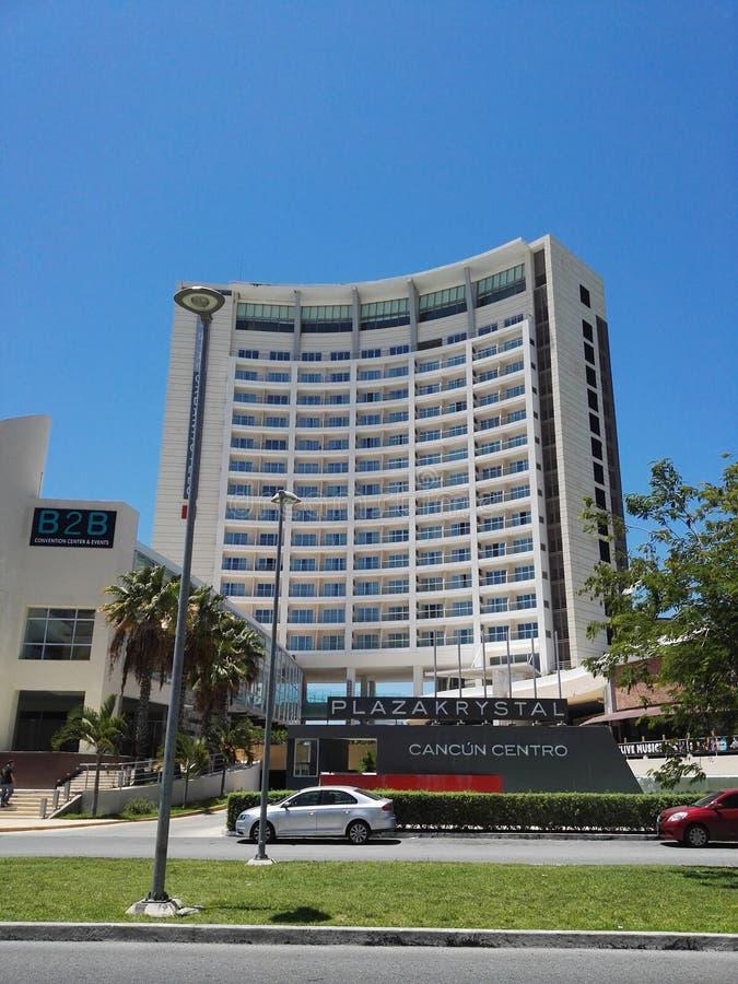 Hotel w Cancun zdjęcia royalty free