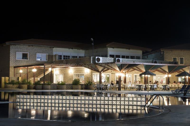 Hotel w Santa Maria - przylądek Verde, Afryka - obraz royalty free