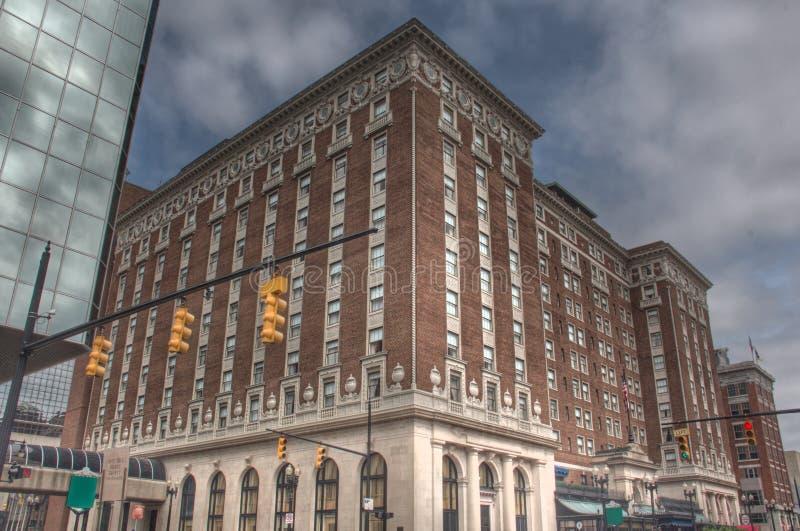 Hotel w Uroczystych gwałtownych obrazy royalty free