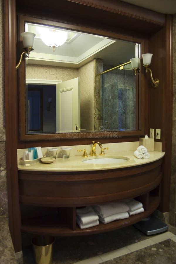 Download Hotel washroom stock photo. Image of bathroom, towels - 5067934