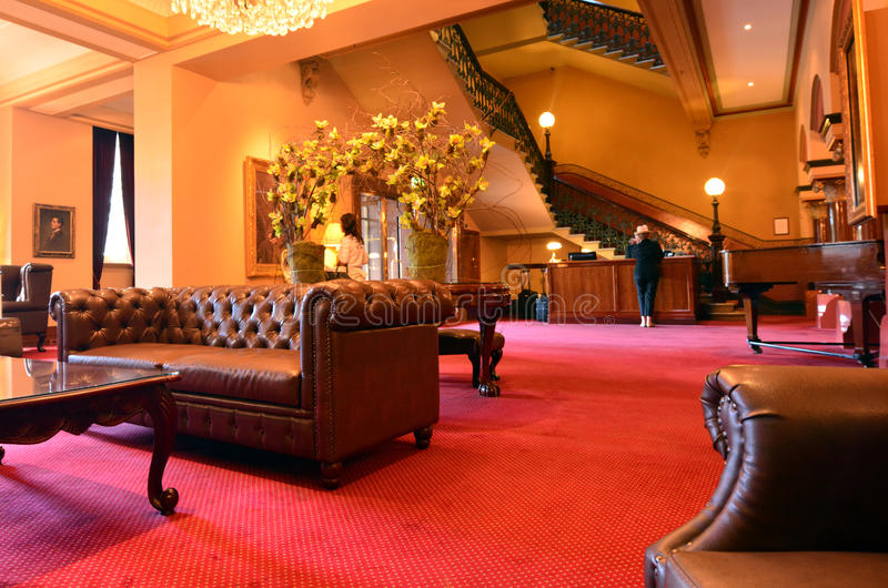 Hotel Windsor - Melbourne fotos de stock