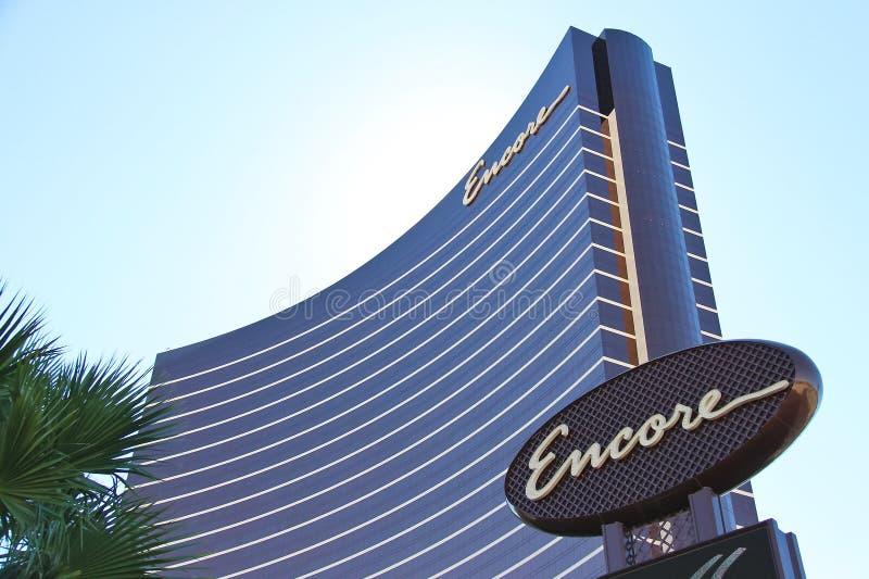 Hotel y casino de la repetición en Las Vegas, Nevada fotografía de archivo libre de regalías