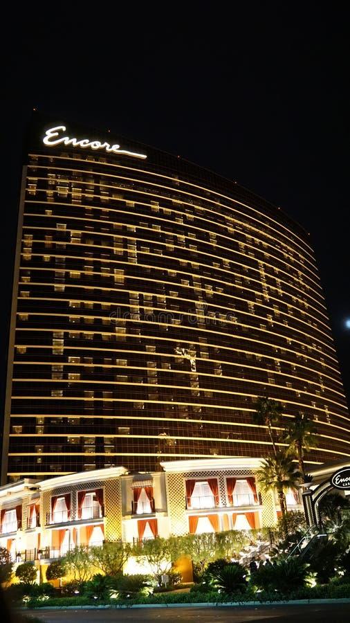 Hotel y casino de la repetición en Las Vegas, Nevada imagen de archivo libre de regalías