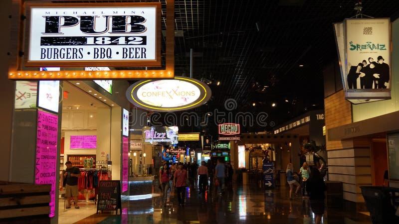 Hotel y casino de Mgm Grand en Las Vegas imágenes de archivo libres de regalías