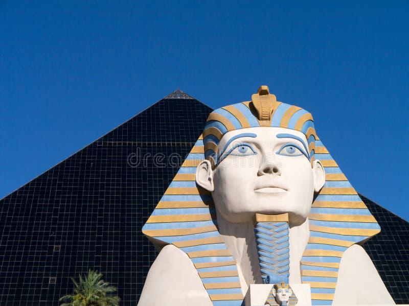 Hotel y casino Las Vegas de Luxor imagenes de archivo