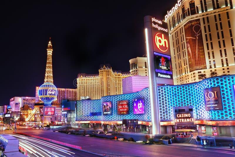 Hotel y casino, Las Vegas de París imagen de archivo