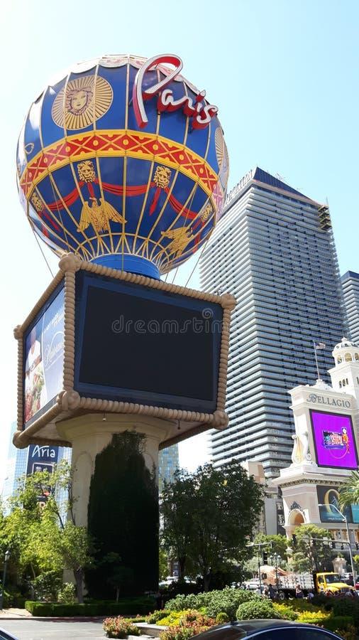 Hotel y casino, París Las Vegas, estructura, edificio, ciudad, turismo de París fotos de archivo