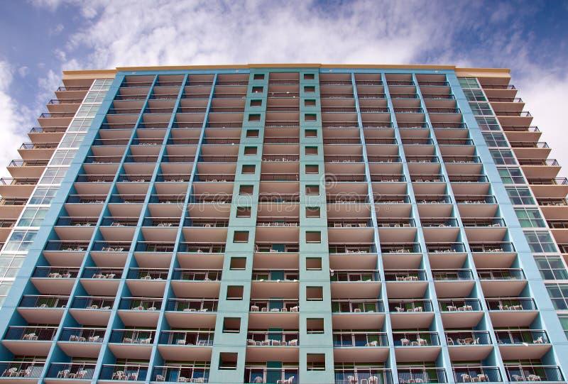 Hoteles de Myrtle Beach foto de archivo