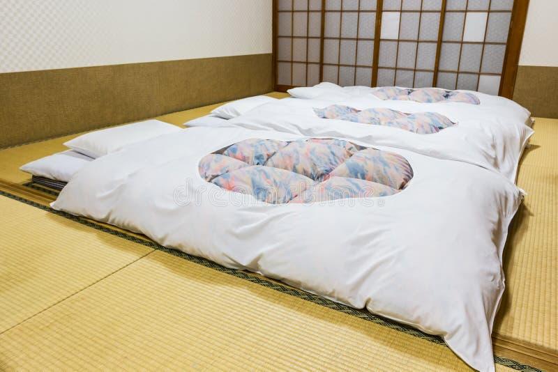 Hoteles de Ryokan, mesón tradicional japonés foto de archivo libre de regalías