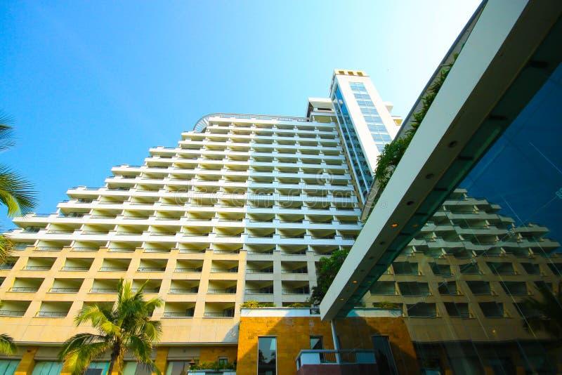 Hoteles del edificio. imagen de archivo libre de regalías