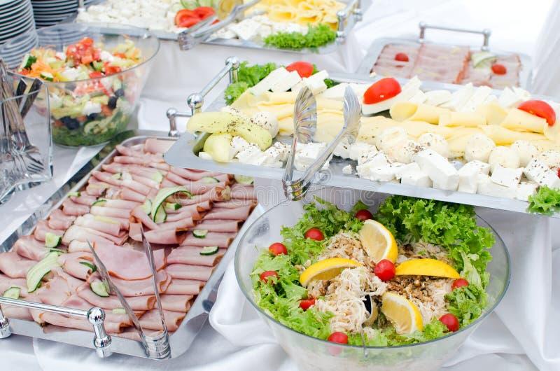 Hotelfrühstück stockfotos