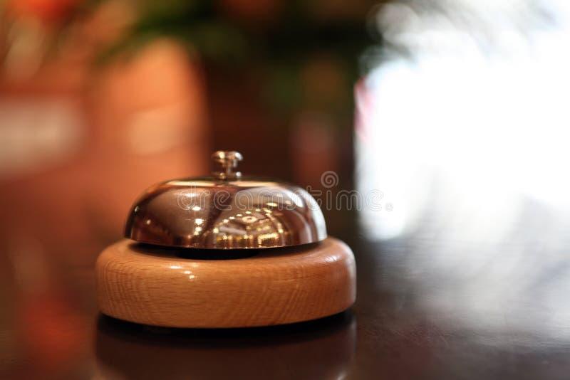 Hotelglocke lizenzfreie stockfotos