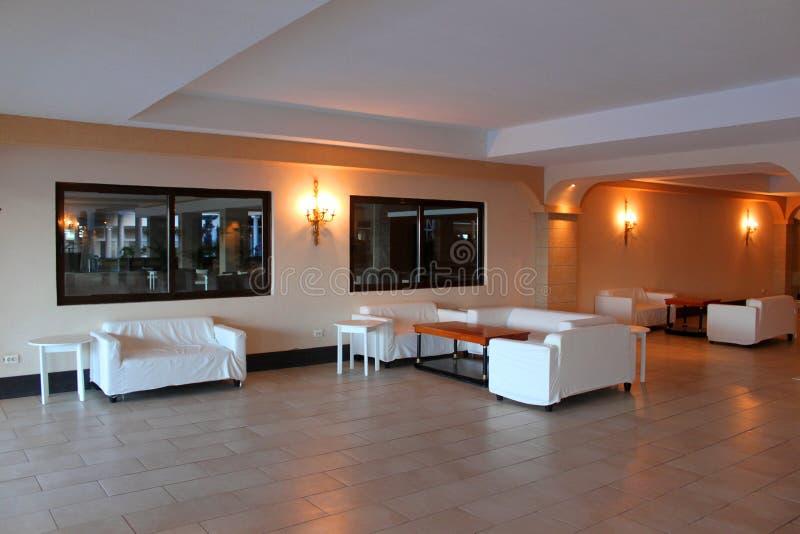 Hotelhal stock fotografie