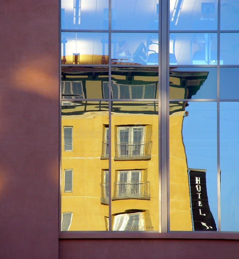 Download Hotell fotografering för bildbyråer. Bild av downtown, finansiellt - 26843