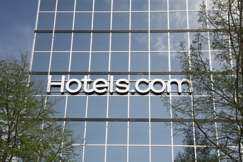 hotell com arkivfoton