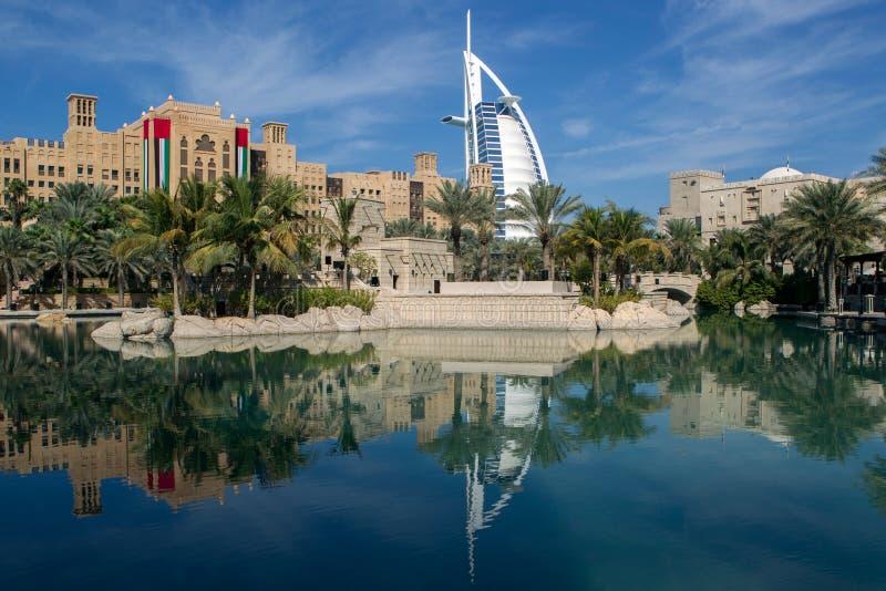 Hotell för Burj alarab royaltyfri bild