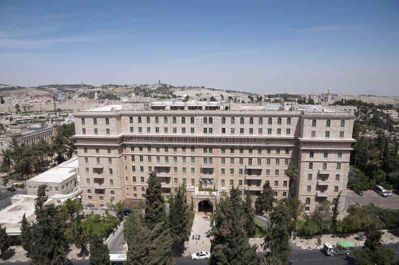 Hotell för konung David royaltyfria foton