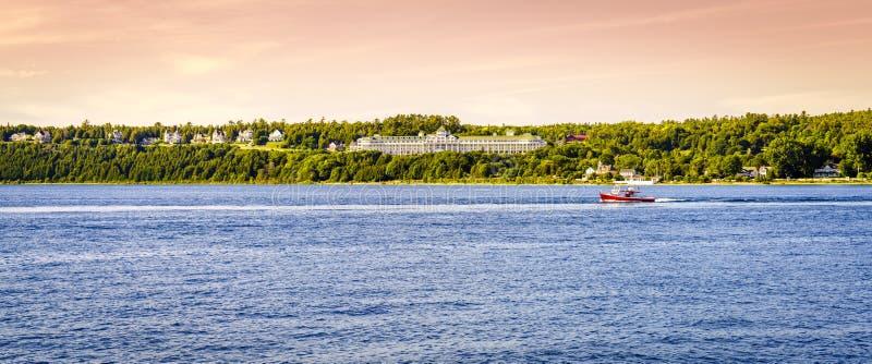 Hotell för Mackinac ötusen dollar arkivbilder