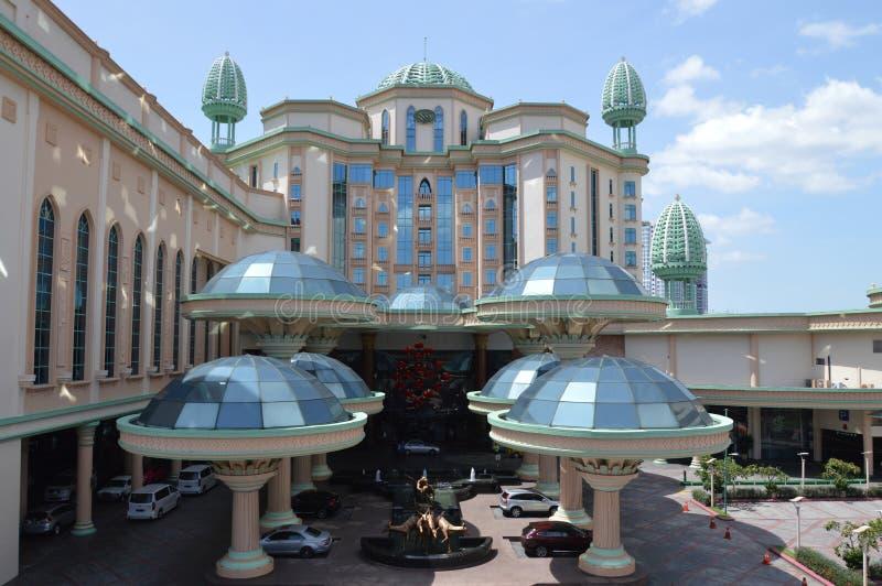 Hotell för Sunway lagunsemesterort royaltyfria bilder