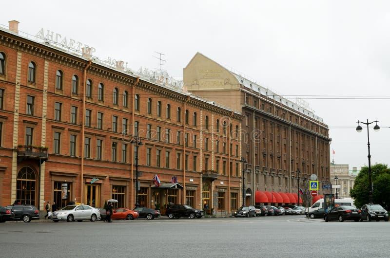 Hotell för utländska turister arkivfoto