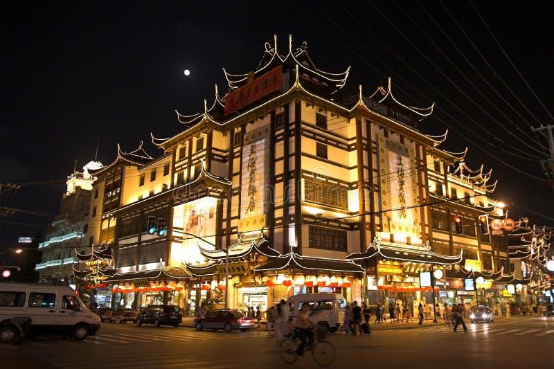 hotell gammala shanghai royaltyfri fotografi