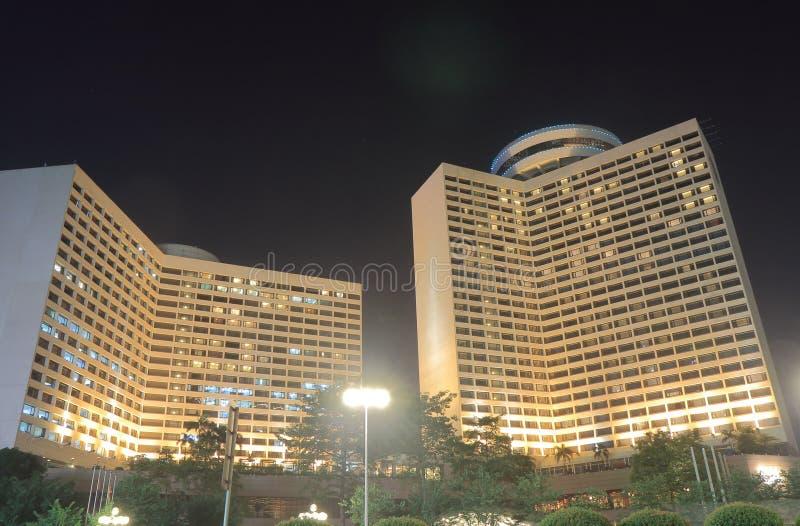 Hotell Guangzhou Kina för ster för blommaträdgård 5 arkivfoton