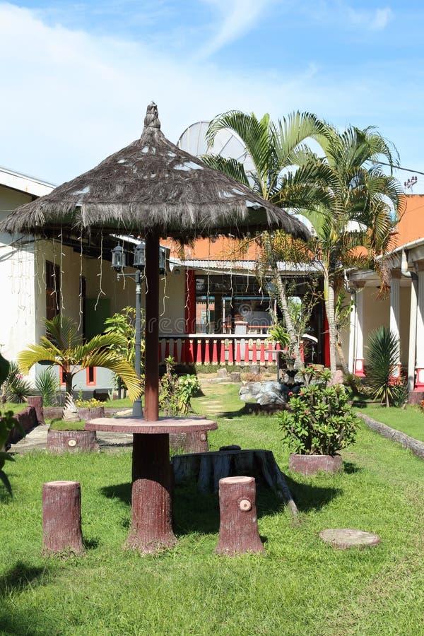 Hotell i Sorong royaltyfri foto