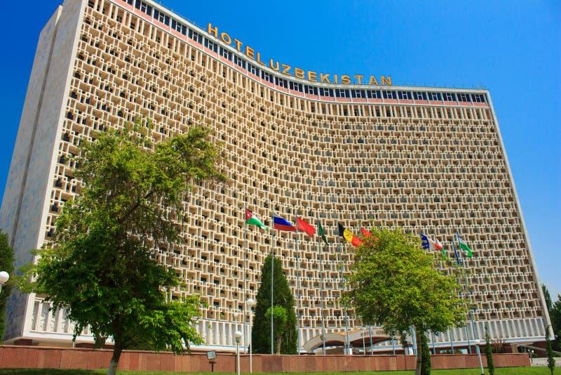 Hotell i Uzbekistan, Tasjkent royaltyfri bild