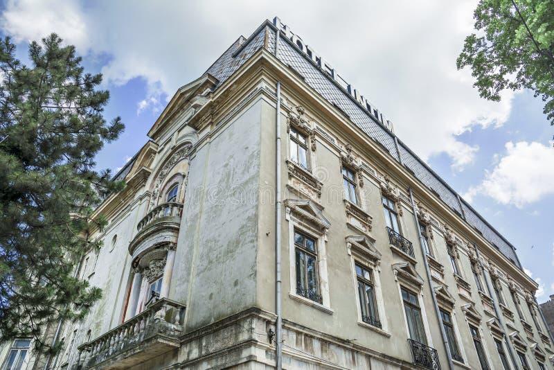 Hotell Intim i Constanta, Rumänien royaltyfria bilder