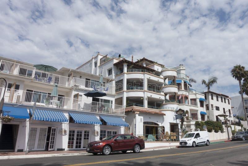 Hotell San Clemente, CA royaltyfria bilder