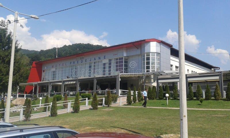 Hotell Serbien arkivbild