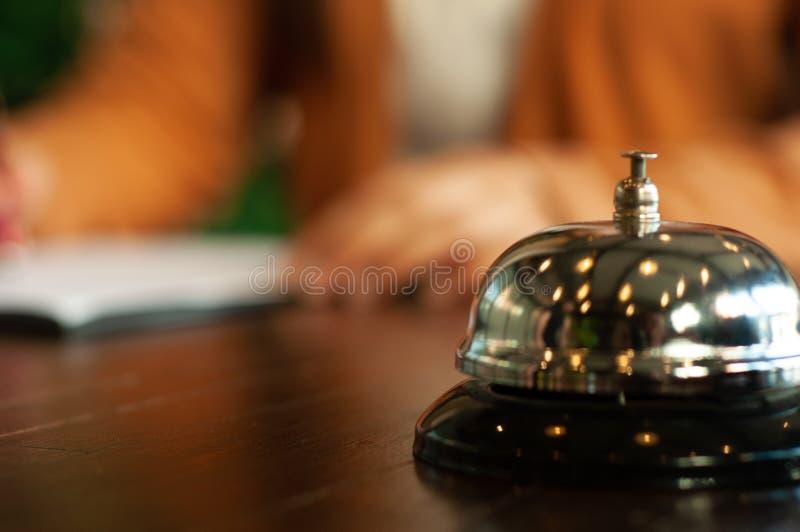 Hotellaffärsincheckning fotografering för bildbyråer