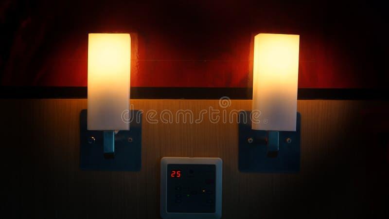 Hotellampe lizenzfreie stockfotografie