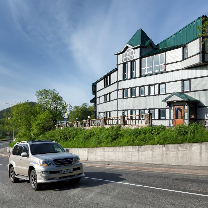 Hotellchef av Kamchatka Ryska Far East, Petropavlovsk-Kamchatsky stad fotografering för bildbyråer