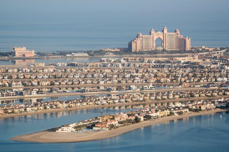 Hotellet Atlantis gömma i handflatan, Dubai, Förenade Arabemiraten royaltyfria bilder
