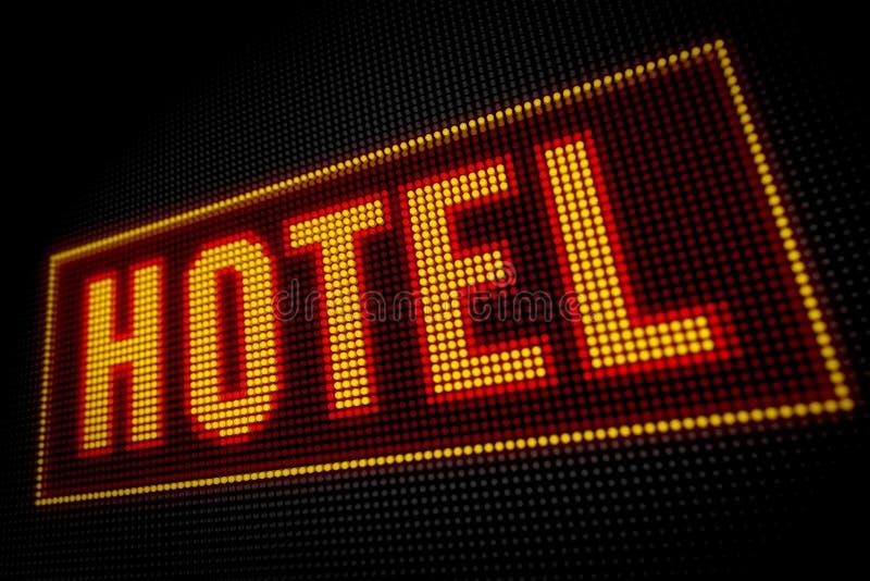 Hotellichten stock foto's