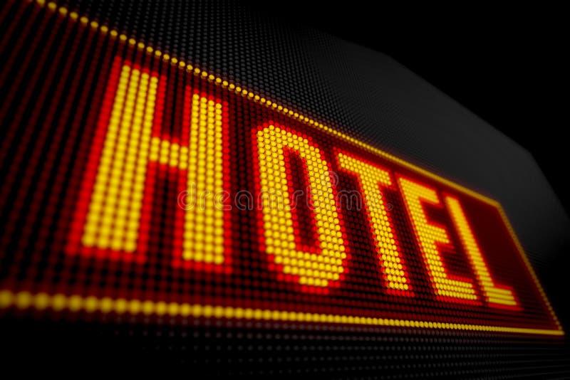 Hotellichten royalty-vrije stock afbeeldingen