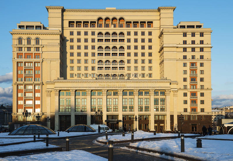 HotellMoskva för fyra säsonger royaltyfri fotografi