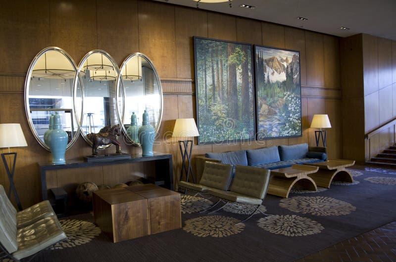 Hotellobby von vier Jahreszeiten Vancouver stockfoto