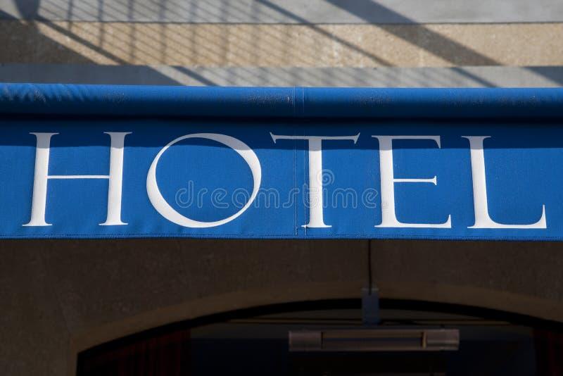hotelltecken arkivfoton