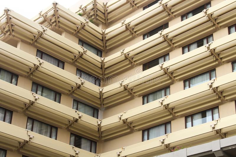 Hotelowa architektura Sri Lanka zdjęcia stock