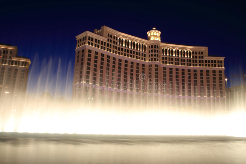 hotelowi Bellagio las Vegas zdjęcia stock