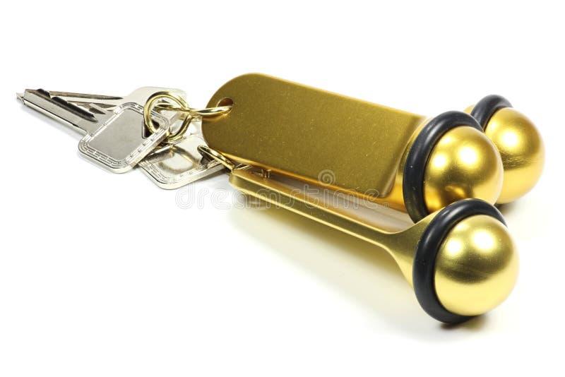 Hotelowi klucze zdjęcie royalty free