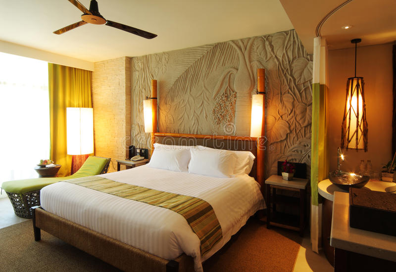 hotelowy ładny pokój obraz stock
